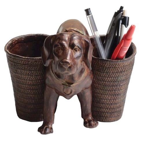 Dog Figurine with Pen/Pencil Cups - 3R Studios - image 1 of 1