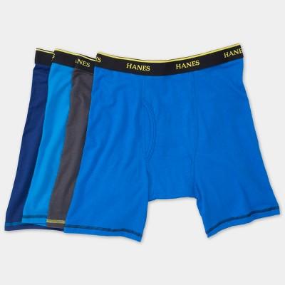 Hanes Men's Cool Comfort Long Leg Boxer Briefs 4pk - S