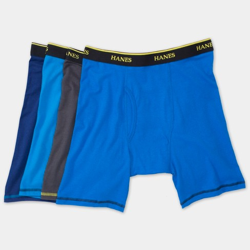 6711533f4d46 Hanes Men's Cool Comfort Long Leg Boxer Briefs 4pk - Colors May Vary :  Target
