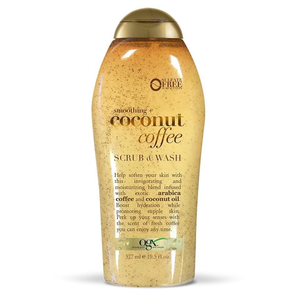 Image of OGX Coconut Coffee Scrub Body Wash - 19.5 fl oz