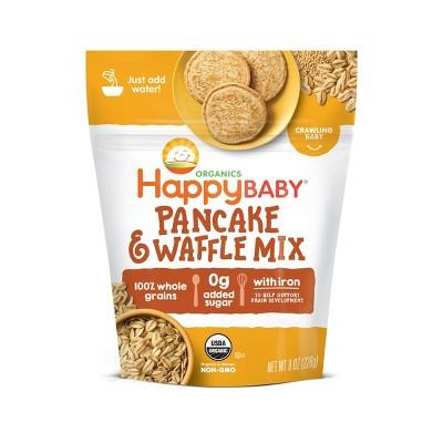 HappyBaby Organics Pancake & Waffle Mix Bag - 8oz