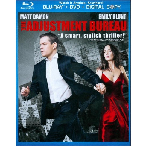 The Adjustment Bureau (2 Discs) (Blu-ray/DVD) (With Digital Copy) (Widescreen) - image 1 of 1