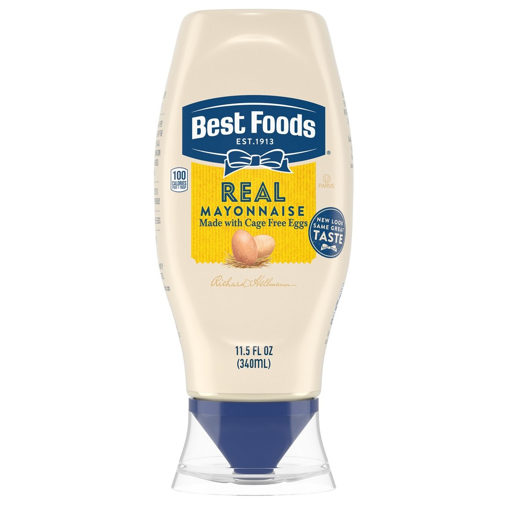 Best Foods Real Mayonnaise Squeeze - 11.5oz Best
