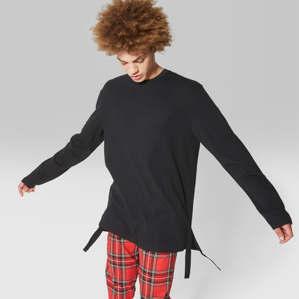 Men's Long Sleeve Thermal T-Shirt - Original Use Black XS
