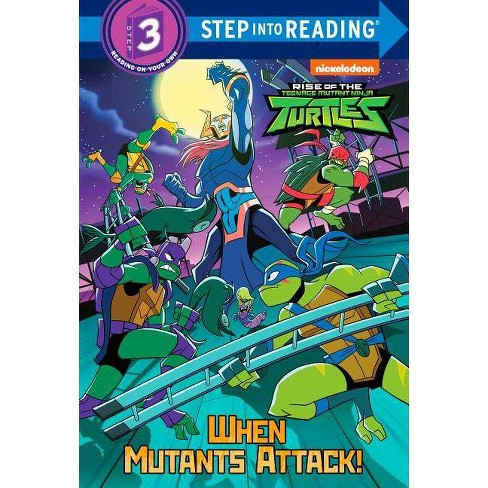 When Mutants Attack! (Rise of the Teenage Mutant Ninja Turtles) - (Step Into Reading) by  David Lewman - image 1 of 1