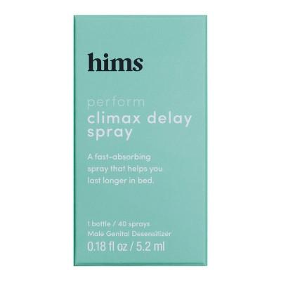 hims Climax Delay Spray - 0.18 fl oz