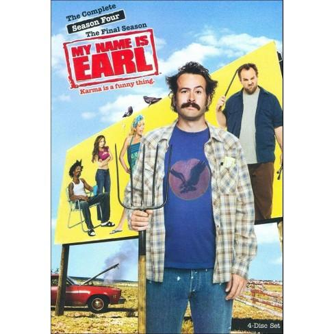 My Name is Earl: Season 4 (4 Discs) (dvd_video) - image 1 of 1
