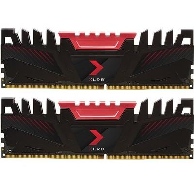 PNY XLR8 DDR4 3200 MHz Desktop Memory - For Desktop PC - 32 GB (2 x 16 GB) - DDR4-3200/PC4-25600 DDR4 SDRAM - CL16 - 1.35 V