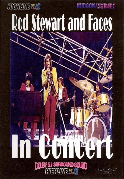 Rod stewart & faces in concert (DVD) - image 1 of 1