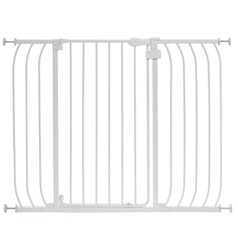 Summer Infant® Walk Thru Anywhere Auto-Close Baby Gate (White Metal) - image 1 of 6