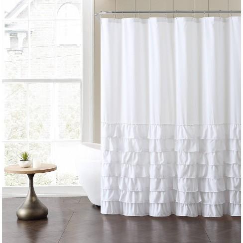 Melanie Ruffle Shower Curtain - VCNY - image 1 of 1