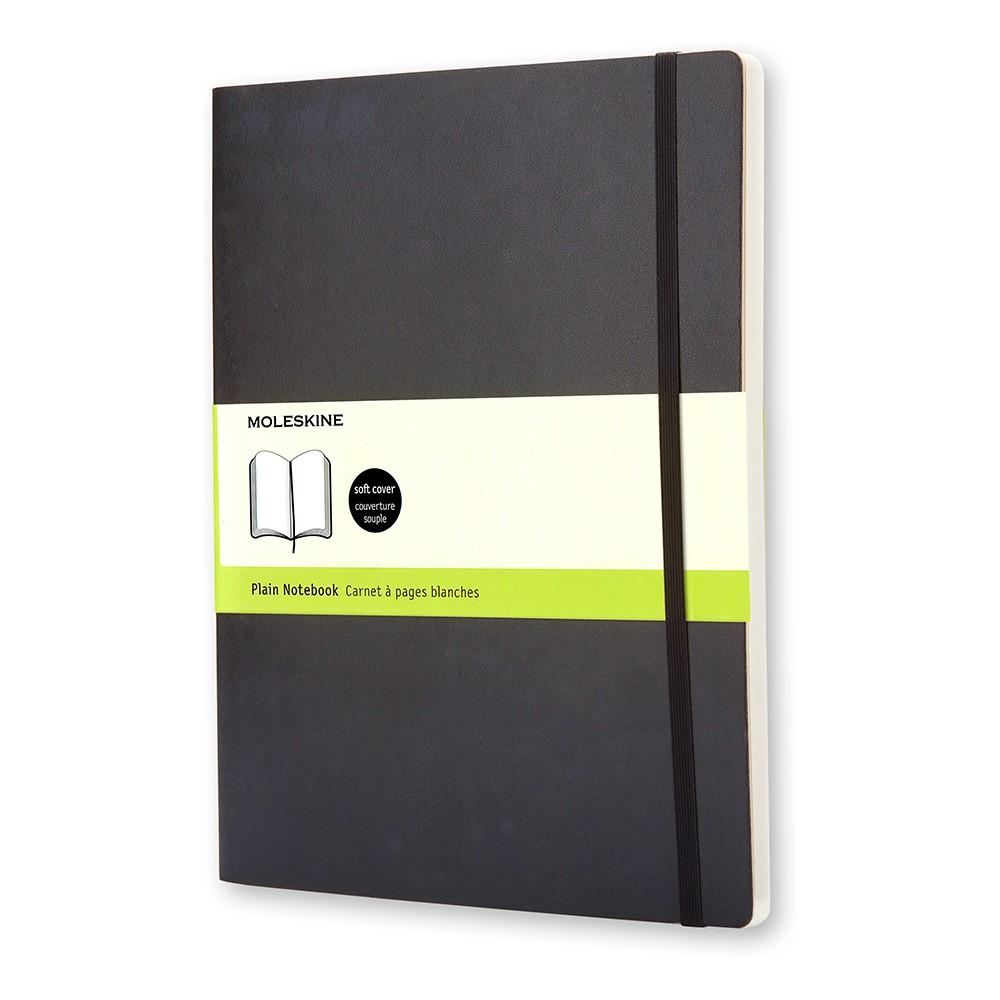 Moleskine Blank Journal Extra Large - Black Softcover