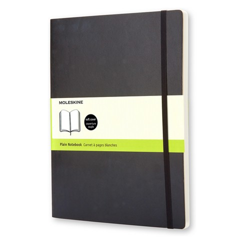 Moleskine Blank Composition Journal Extra Large - Black Softcover - image 1 of 3