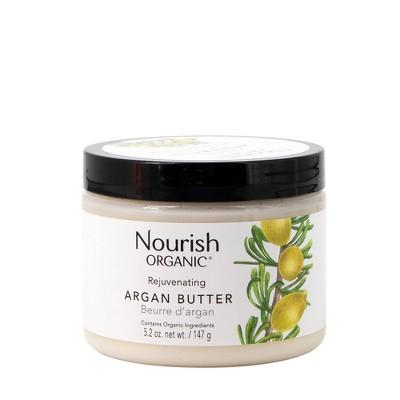 Nourish Organic Rejuvenating Argan Butter 5.2 oz