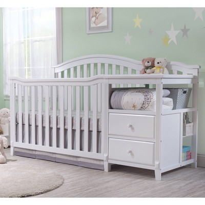 Sorelle Berkley Crib & Changer Standard Full-Sized Crib White
