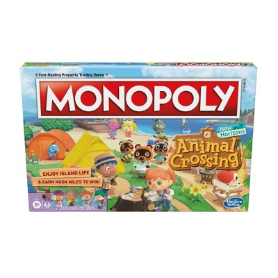 Monopoly Animal Crossing New Horizons Game