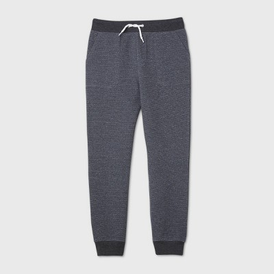 Boys' Doubleknit Thermal Jogger Pants - Cat & Jack™ Gray