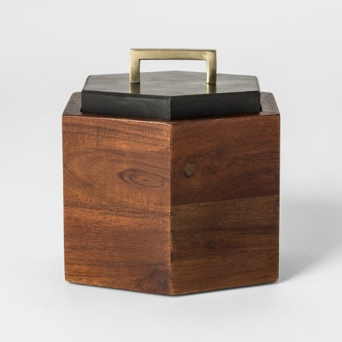 Decorative Box - Black/Brown - Project 62™ - image 1 of 3