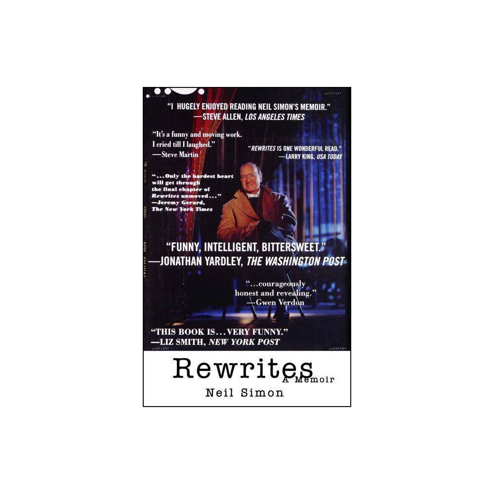 Rewrites By Neil Simon Paperback