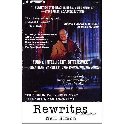 Rewrites - by  Neil Simon (Paperback) - image 1 of 1