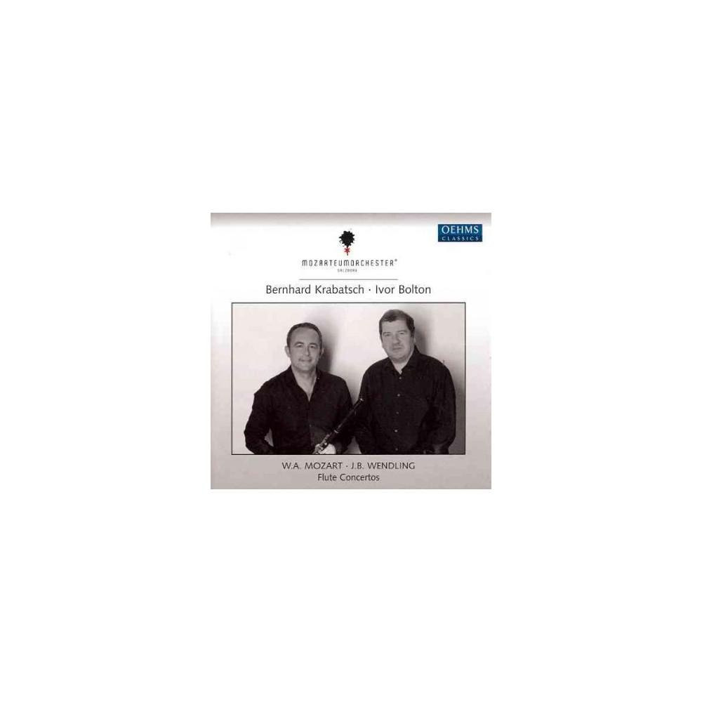 Mozarteum Orchestra - Mozart/Wendling:Flute Concertos (CD)