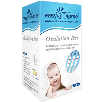 easy@Home Ovulation Test Strips - 25ct