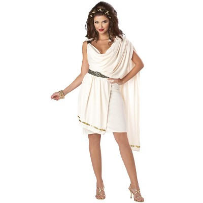 California Costumes Women's Deluxe Classic Toga Adult Costume