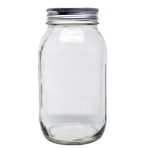 Ball 12ct 32oz Smooth-Sided Mason Jar with Lid and Band - Regular Mouth - image 1 of 4