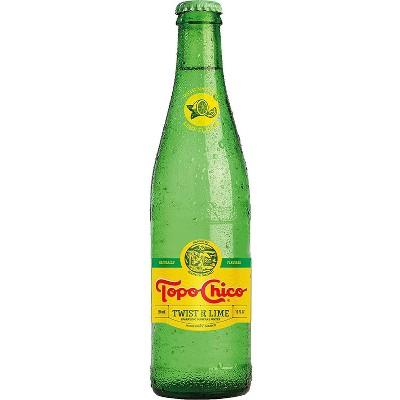 Topo Chico Lime Twist Water - 4pk/12 fl oz Glass Bottles
