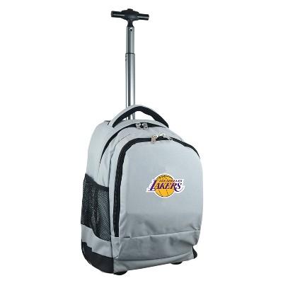 NBA® Mojo Premium Wheeled Backpack - Gray