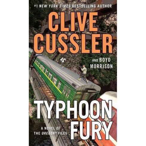 Typhoon Fury - (Novel of the Oregon (R) Files) Large Print by  Clive Cussler & Boyd Morrison (Paperback) - image 1 of 1
