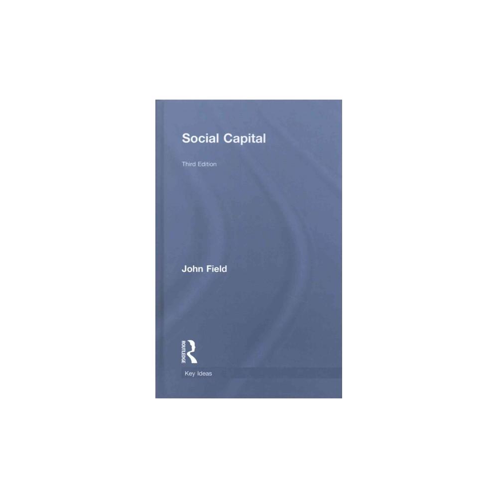Social Capital (Hardcover) (John Field)