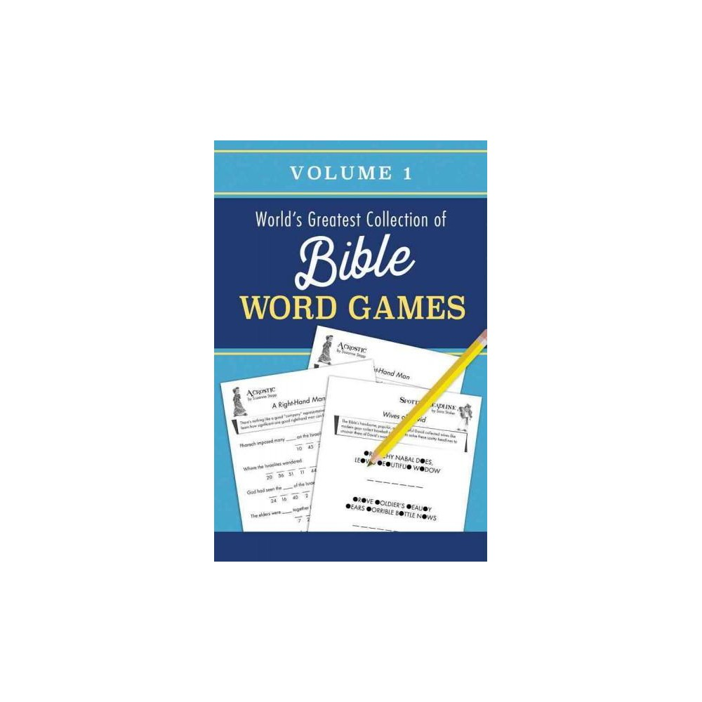 World's Greatest Collection of Bible Word Games (Vol 1) (Paperback)