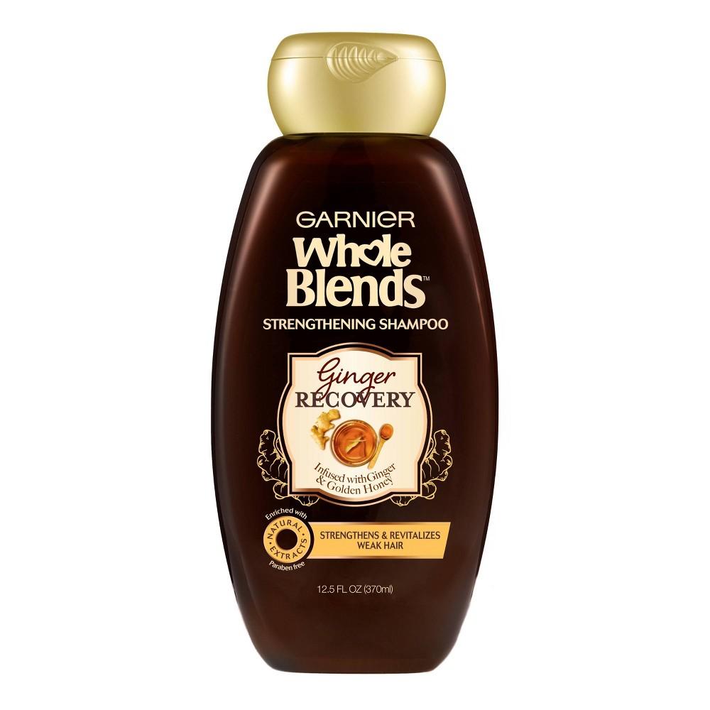 Garnier Whole Blends Ginger Recovery Strengthening Shampoo 12 5 Fl Oz