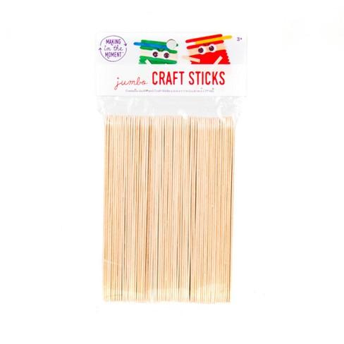 Jumbo Wood Craft Sticks 60ct Making In The Moment