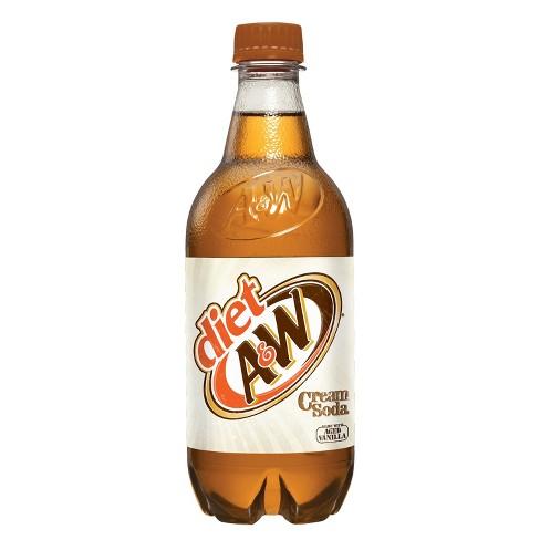A&W Diet Cream Soda - 20 fl oz Bottle - image 1 of 1