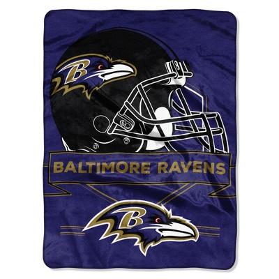 NFL Baltimore Ravens Raschel Throw Blanket   Target 5b1dd8a8c
