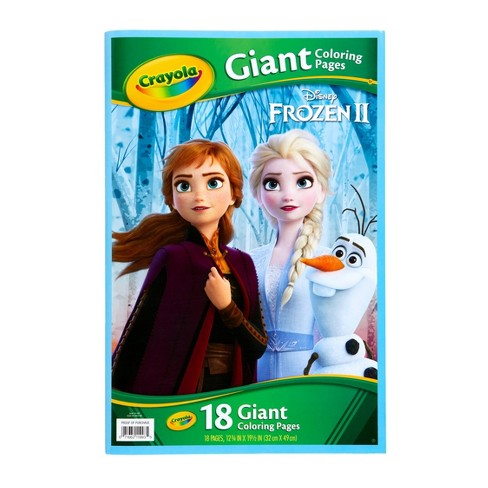 Crayola Giant Coloring Book - Frozen 2