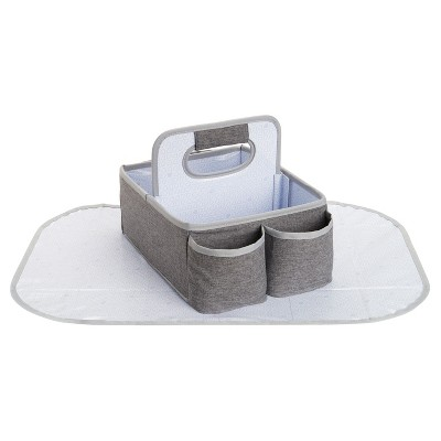 Munchkin Portable Diaper Caddy Organizer - Gray