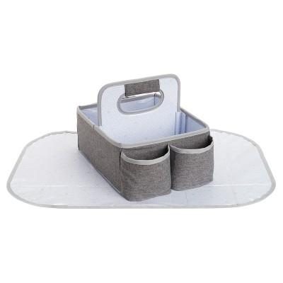 Munchkin Portable Diaper Caddy Organizer - Gray