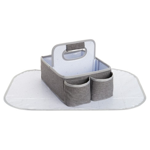 Munchkin Portable Diaper Caddy Organizer Gray