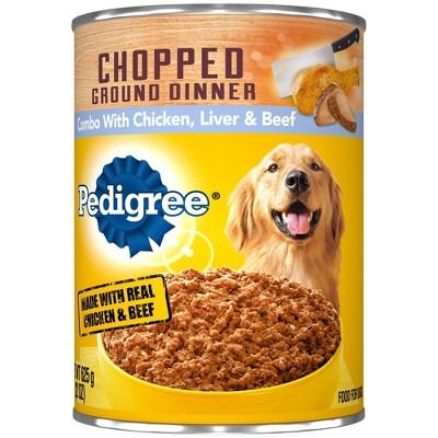 Pedigree Chopped Wet Dog Food - 22oz