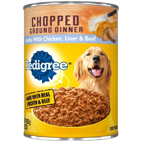 Pedigree Chopped Wet Dog Food - 22oz - image 1 of 4