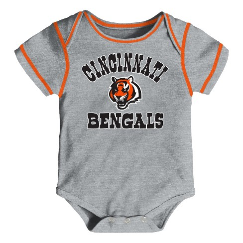 350523a5f Cincinnati Bengals Boys  Newest Fan 3pk Bodysuit Set 12 M   Target