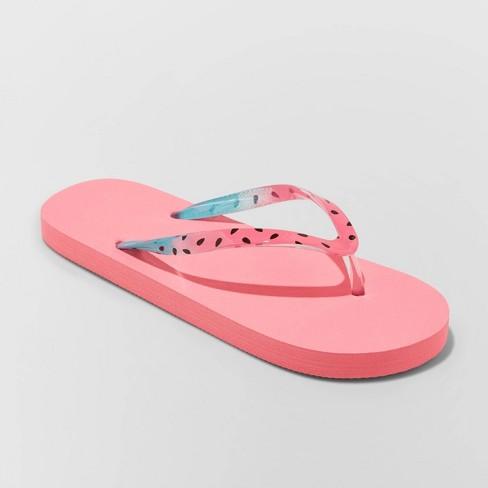 Girls' Sam Flip Flop Sandals - Cat & Jack™ Navy - image 1 of 3