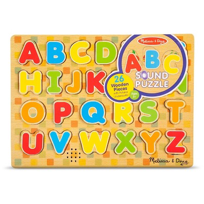 Melissa & Doug® Large Sound Puzzle Assortment 25pc