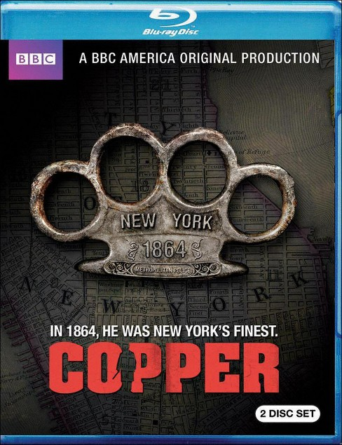 Copper: Season One (2 Discs) (Includes Digital Copy) (UltraViolet) (Blu-ray) - image 1 of 1