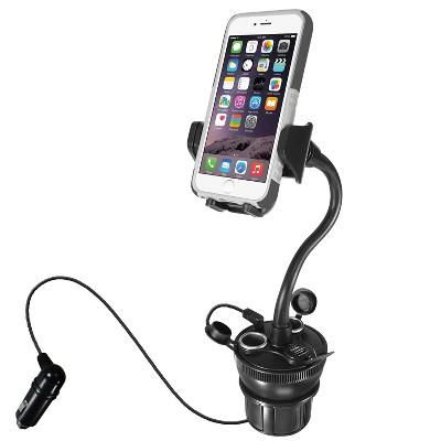 Macally Phone Gooseneck Holder - For Smartphone