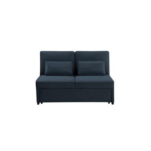 Serta Tampa Convertible Sofa Atlantic - Lifestyle Solutions - image 1 of 4