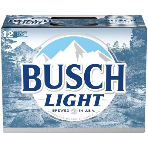 Busch Light Beer 12pk 12 Fl Oz Cans Target